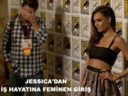 Jessica Alba'dan feminen giriş