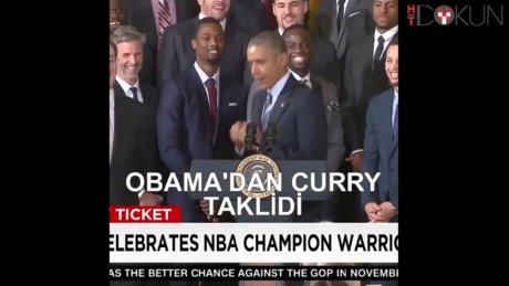 Curry'yi taklit etti