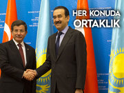 KAZAKİSTAN'LA YENİ AÇILIM