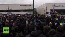 İngiltere'de İslam karşıtı gösteri düzenlendi