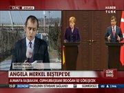 Angela Merkel Beştepe'de