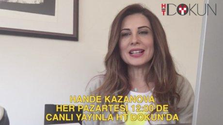 Hande Kazanova canlı yayını 8 Şubat 2016