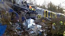 Almanya'da tren kazası meydana geldi