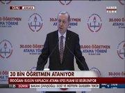 Cumhurbaşkanı Tayyip Erdoğan, öğretmenlere seslendi
