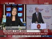 Erdoğan ve Gül Beştepe'de bir araya geldi