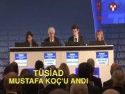 TÜSİAD, Mustafa Koç'u andı