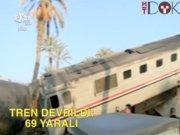Mısır'da tren devrildi: 69 yaralı