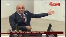 CHP'li Tanal'ın sözlerini AKP'liler alkışladı