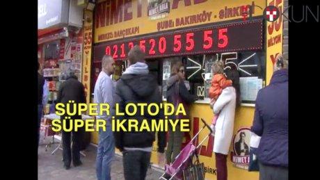 Süper Loto 23 milyon TL veriyor