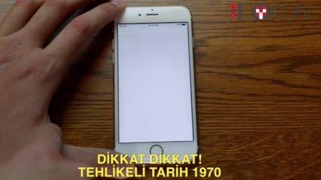 iPhone'lar için tehlikeli tarih: 1 Ocak 1970