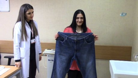Kendine uygun kıyafet bulamayınca 34 kilo verdi