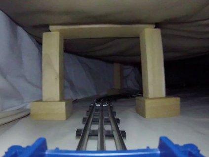Madenden kaçış treni