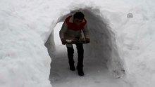 """""""Kardan"""" tünel yaptılar"""