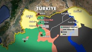 TSK YPG'Yİ VURDU