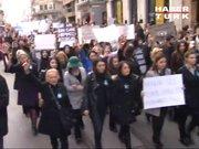 Ülkücülerden Beyoğlu'nda Özgecan Aslan eylemi