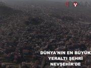 Nevşehir yeraltı şehri