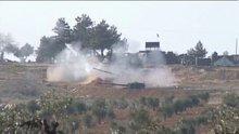 TSK, YPG mevzilerini Fırtına obüsleriyle vurmaya devam ediyor