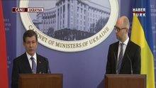 Davutoğlu'ndan Rusya'ya tepki