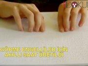 Görme engellilere akıllı saat