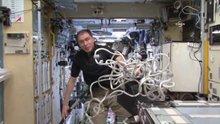 Uluslararası Uzay İstasyonu'nda temizlik nasıl yapılır ?