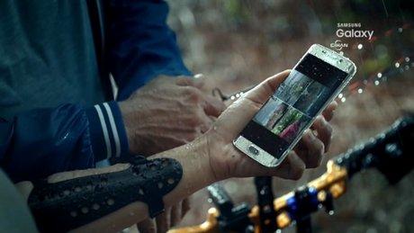 Samsung Galaxy S7 Edge'in tanıtım videosu