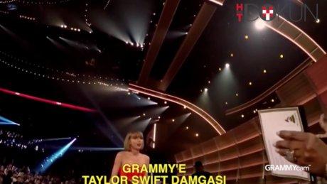Grammy'e Taylor Swift damgası