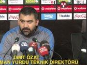 Beşiktaş - Mersin İdman Yurdu maçının ardından