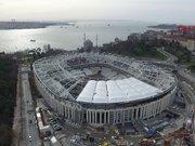 Vodafone Arena'da ''Beşiktaş'' göründü
