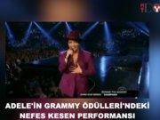 Adele'in Grammy performansı