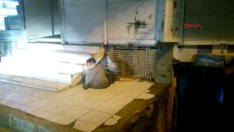 Siverek'te engelli çocuk iple demire bağlandı