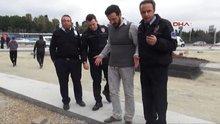 ''Üzerimde bomba var'' dedi; polis harekete geçti