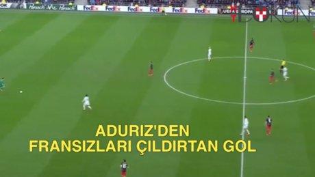 Aduriz'den Fransızları çıldırtan gol