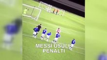 Arsenal'in gençlerinden Messi penaltısı