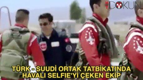 En havalı Selfie'yi çeken ekip