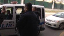 Cumhurbaşkanlığı külliyesi karşısındaki suriyeli şahıs polisi alarma geçirdi