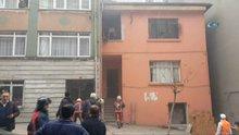 Yangında mahsur kalan aileyi böyle kurtarıldı