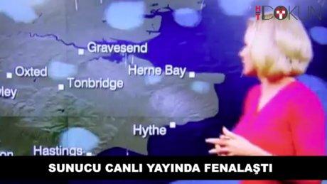 BBC spikeri canlı yayında fenalaştı