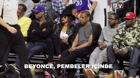 Beyonce pembeler içinde