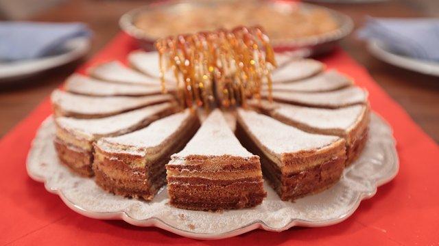Çay saati menüsünden Ağaç Kek