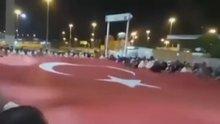 Kutsal topraklardan Türkiye'ye destek