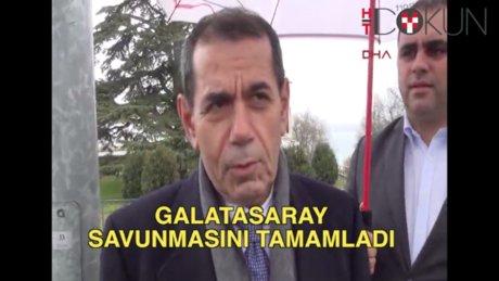 Galatasaray savunmayı tamamladı