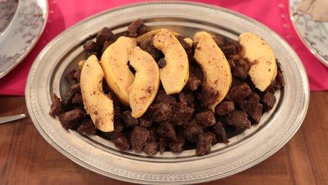 Diyarbakır Mutfağından Ayvalı Kavurmalı Et