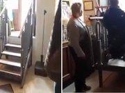 Engelliler için merdiven
