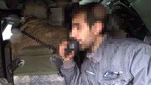 Sur'da teslim olan teroristler megafonla diğer teroristlere seslendi