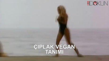 Pamela'dan çıplak vegan tanıtımı