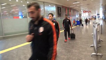 Galatasaray İtalya'dan döndü