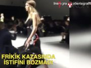 Gigi Hadid frikik kazasını 'cool' atlattı