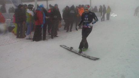 Snowboard'un kalbi Kayseri'de attı