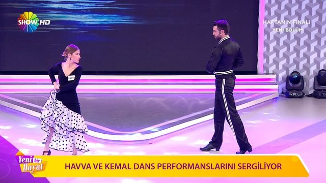 Havva ve Kemal'in 3. Hafta dans performansı