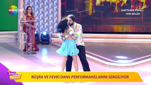 Büşra ve Fevki'nin 3. Hafta dans performansı